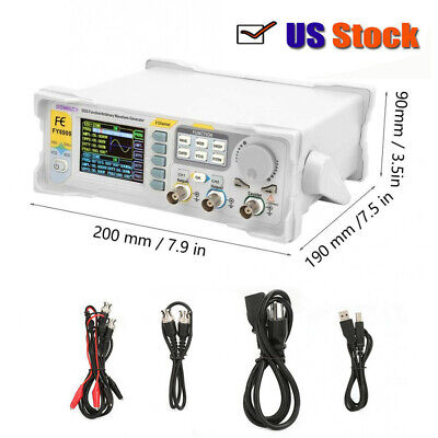 Fy6900-60m Dual-channel Dds Function Waveform Signal Generator Counter