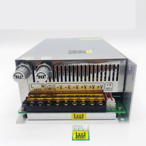 Adjustable 0-80V 12.5A 1000W Regulated Variable Switch Power Supply for DC Motor