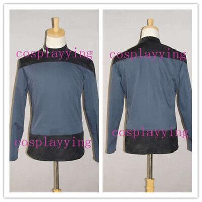 Star Trek Captain Jean-Luc Picard's Uniform Cosplay Costume Custom Made