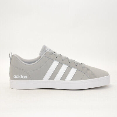 Mens adidas VS Pace Grey/White Trainers (CMF13) RRP £44.99
