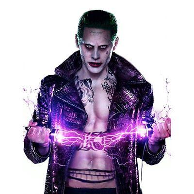 Jared Leto's Joker Empire Long Élégant Manteau Déguisement Halloween Sucide