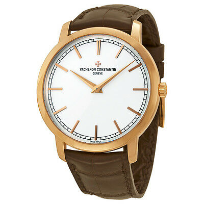 Vacheron Constantin RG Patrimony Traditionnelle Automatic Silver Dial Brown