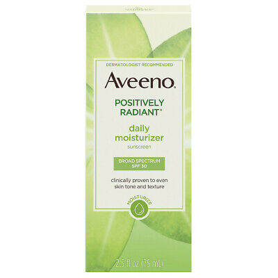 Aveeno Naturals Positively Radiant Daily Moisturizer SPF 30 2.5
