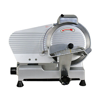 10 Blade Commercial Meat Slicer Electric Deli Slicer Veggies Cutter Kitchen