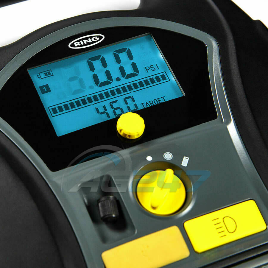 Ring RTC6000 Compressor Cordless Digital Inflator /& Air Pump