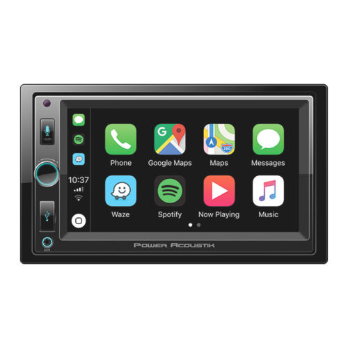 """POWER ACOUSTIK CP-650 6.5"""" DVD BLUETOOTH iPHONE APPLE CAR PLAY STEREO"""