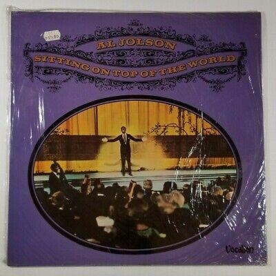 AL JOLSON Sitting On Top Of The World LP Vocalion VLP3 UK 1975 SEALED (Al Jolson Sitting On Top Of The World)