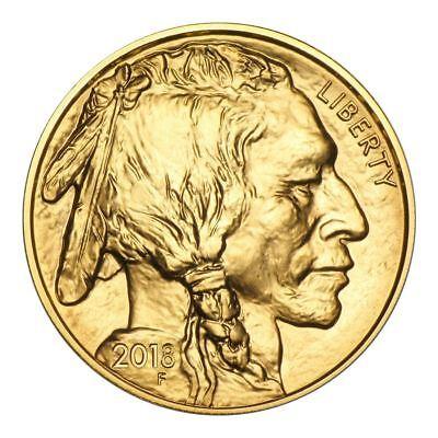 Купить 2018 American Gold Buffalo 1 oz Coin - Direct From Mint Tube