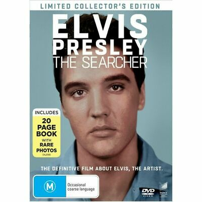ELVIS Presley - The Searcher DVD BEST MUSIC DOCUMENTARY LIMITED ED. BRAND NEW