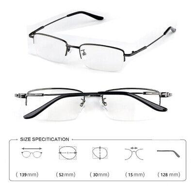 Myopia Glasses Metal Frame Optical Nearsighted Minus Distance (Nearsighted Eyeglasses)