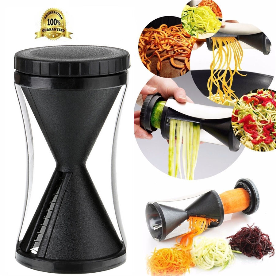 vegetable spiral slicer cutter spirelli kitchen spiralizer
