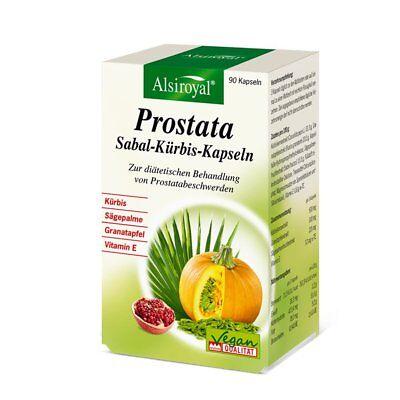 Alsiroyal Prostata Sabal-Kürbis-Kapseln, 90 Kapseln