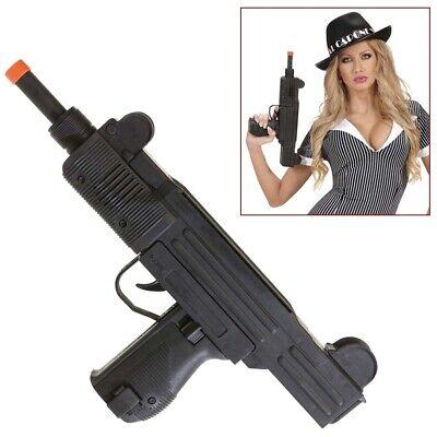SPIELZEUG UZI Maschinenpistole Maschinengewehr Gewehr Gangster Kostüm Party (Gangster Maschinenpistole Kostüme Spielzeug)
