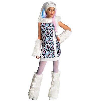 Kinder ABBEY BOMINABLE Kostüm Schneekönigin Eisprinzessin Karneval Monster High
