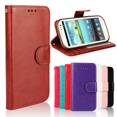 Best For Samsung Galaxy S3 i9300 High Quality Wallet Case Cover Protector Pouch (Best Samsung Galaxy S3 Case)