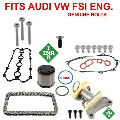 CAM, CAMSHAFT CHAIN TENSIONER ADJUSTER GASKET KIT 20PCS FOR VW AUDI 2.0T FSI Audi Cam Chain Tensioner