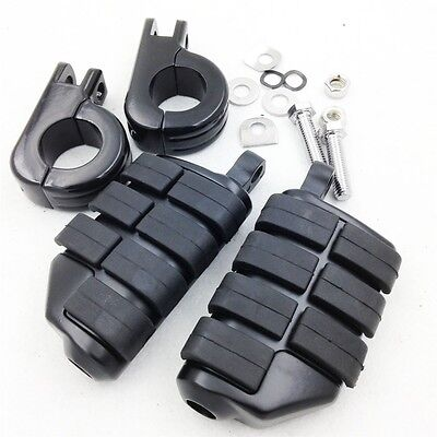 E 1 14 DUALLY HIGHWAY P CLAMPS LARGE FOOT PEGS FOR TRIUMPH 3 2300CC