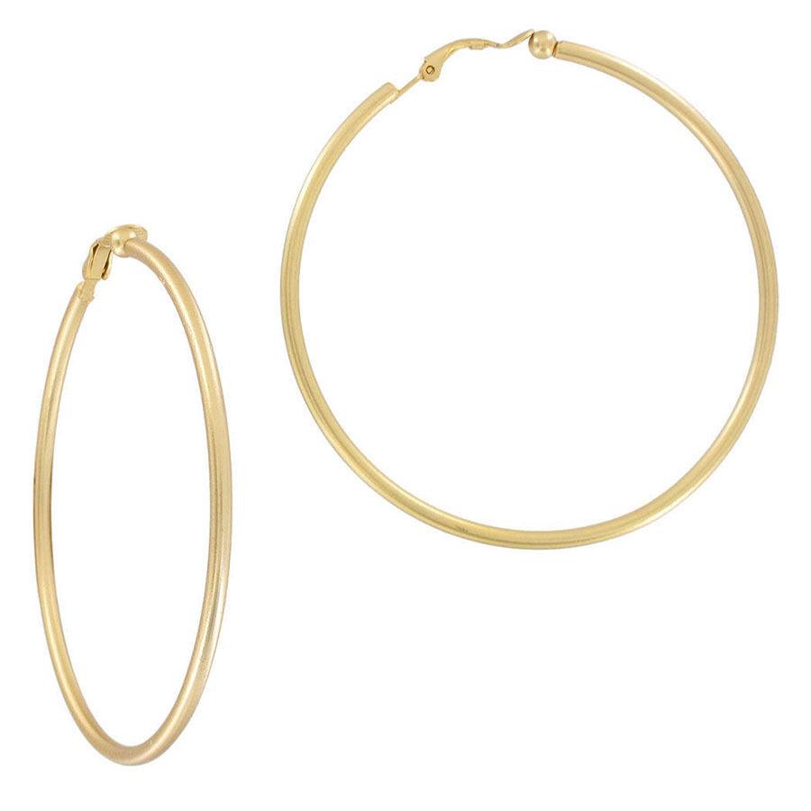 how to get hoop earrings in