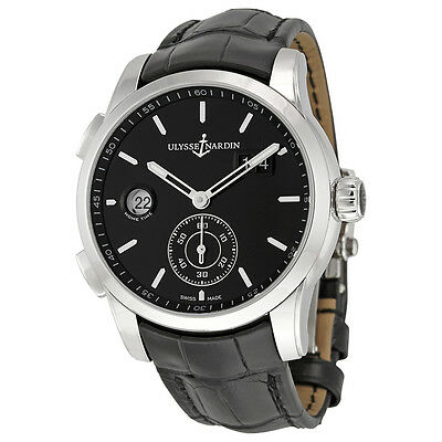Ulysse Nardin Dual Time Automatic Mens Watch 3343-126-92