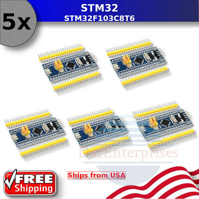 5x - Stm32f103c8t6 Minimum System Development Board - Core Learning For Arduino