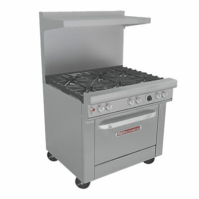Southbend 4361d 36 Ultimate Restaurant Range 6 33kbtu Gas Burners