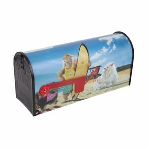 Sainty International Metal Hot Dawg Post Mount Mailbox (Used, Very Good)