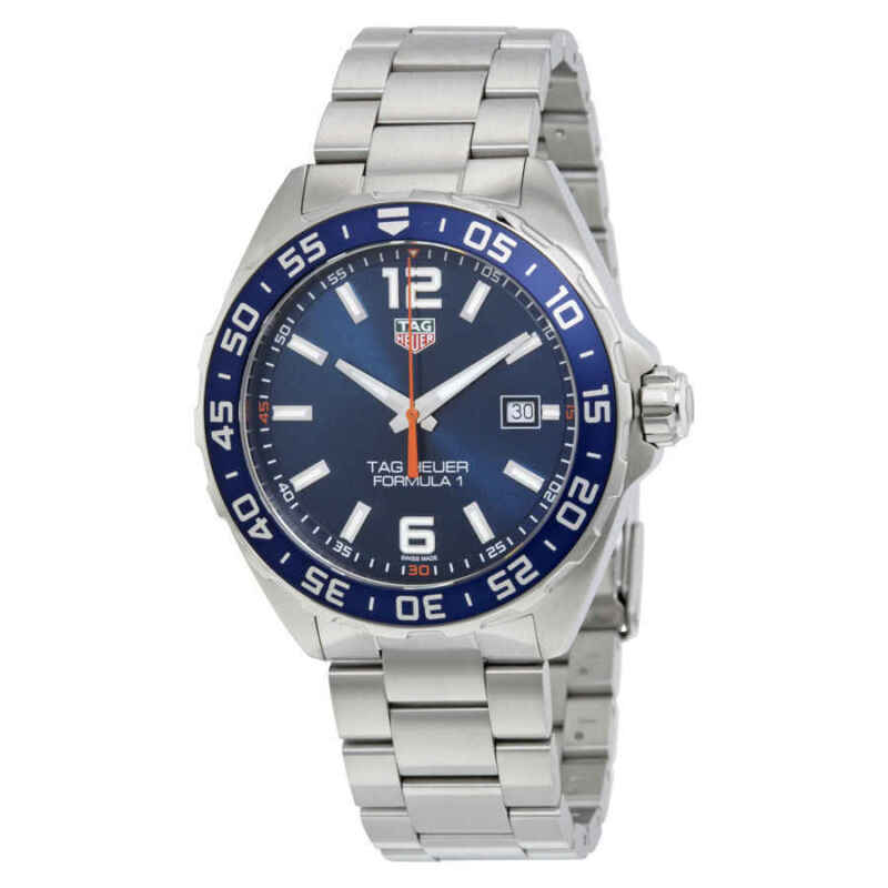 Tag Heuer Formula 1 Blue Dial Men's Watch WAZ1010.BA0842 - watch picture 1
