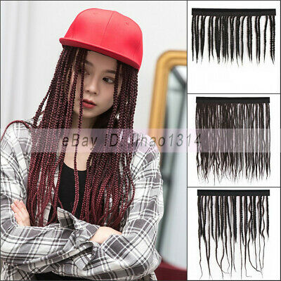 Dreadlocks Hair Weft for Hat Thick Braided & Thin Braid Synthetic Unisex Fashion - Hat For Dreadlocks