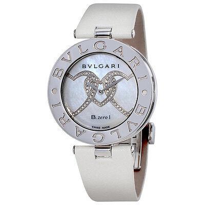Bvlgari B.zero Diamond Quartz Ladies Watch BZ35WHDSL