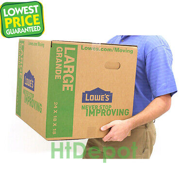 Cardboard Boxes Moving Shipping Packing Multiple Sizes Pack Lot