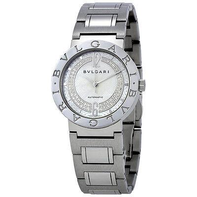 Bvlgari Bvlgari Automatic Mother of Pearl Dial Diamond Ladies Watch 101722