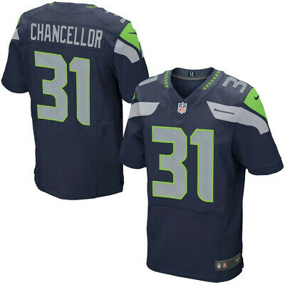 CHANCELLOR camiseta de la NFL SEAHAWKS color azul.Tallas M,L,2XL.