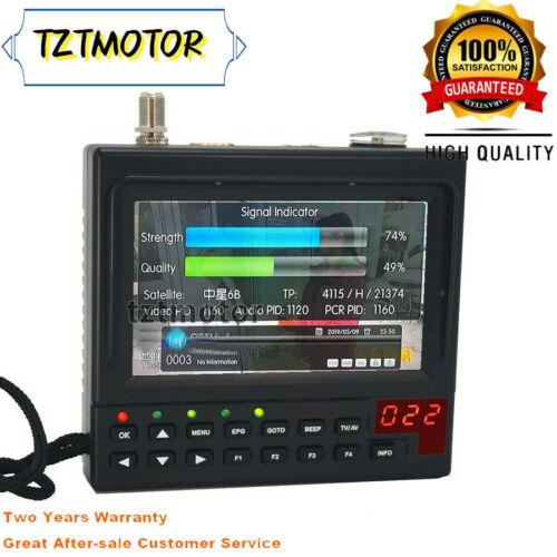 Portable DVB-S2 Digital Satellite Finder & Monitor DVB-S Sat Meter KPT-268AH