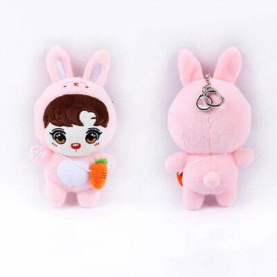 Us Kpop Bts Jung Kook Plush Bangtan Boys Animal Doll Toy Keychain Clip Handmade