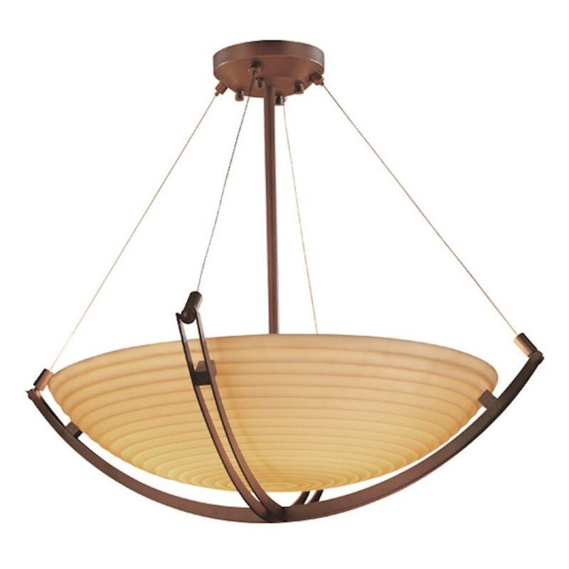 Justice Design Pendant - Pna-9727-35-sawt-dbrz