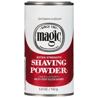 MAGIC SHAVING POWDER EXTRA STRENGTH 5oz + FREE TRACK DELIVERY