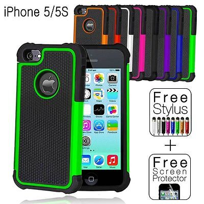 Shockproof Case Cover for Apple iPhone 5S 5