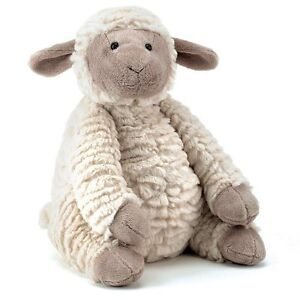 JELLYCAT-Fuddles-Lamb-Baby-Soft-teddy-bear-toy-Farm-Animal-Sheep-Medium-Cuddly