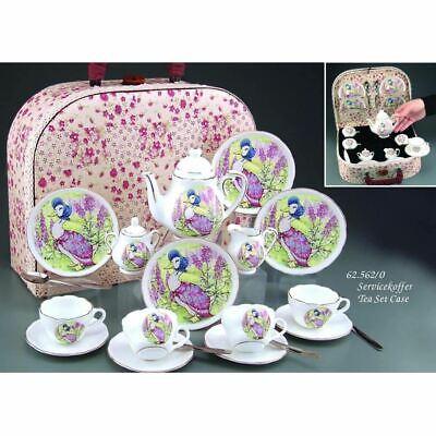 Jemima Puddle-Duck - 4 Plätze Kinder Tee-Set in Transporttasche - Set 4 Plätze