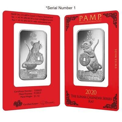 1//10 Gram Gold /& Platinum Bar COMBO 999 Fine Bullion Bars in sealed certcard a15