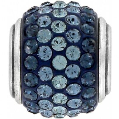 NEW Brighton CUPID'S KISS Dark Blue Crystals Charm Bead  RETIRED Rare  MSRP $29