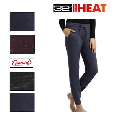 Sale  Womens Weatherproof 32 Degrees Heat Jogger Athletic Lounge Pant Variety