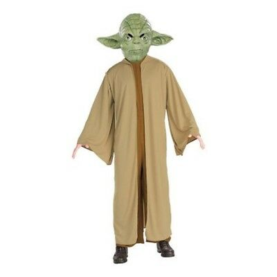 Childrens Star Outfit (Boys Child Licensed STAR WARS Yoda Costume)