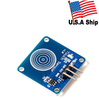 Us Stock Ttp223b Digital Touch Sensor Capacitive Touch Switch Module For Arduino