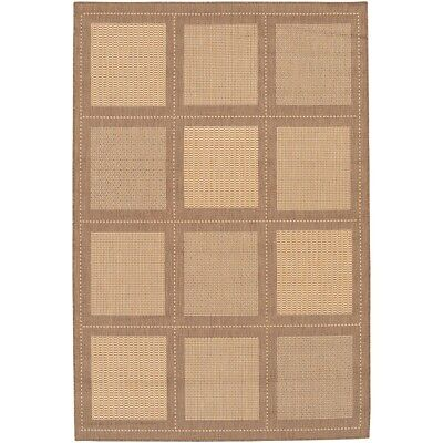 Couristan Recife Summit Natural - Couristan Recife Summit Natural & Cocoa In/Out Rug