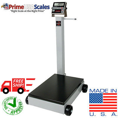Portable Floor Scale 1000 Lb With Wheels Legal For Trade Ntep Approved