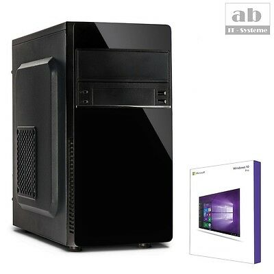QUAD CORE PC GAMER A8 7680 8GB 480GB SSD Komplett Windows 10 Computer