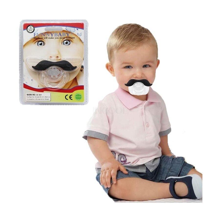 Baby Schnurrbart Schnuller Funny Baby der lustige Schnurrbart Schnuller Nuckel