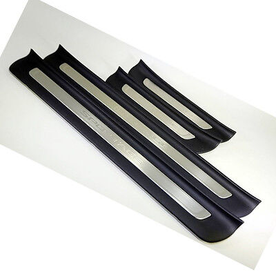 Genuine OEM 4 Set Door Sill plate Guards Protector for Kia Sportage QL 16~17