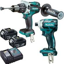 Makita 18V Brushless 2Piece Combo Kit Maddington Gosnells Area Preview